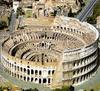 На территории Колизея в средневековье располагался жилой комплекс и торговый цен
