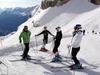 В Кортина-д'Ампеццо и Червинии этим летом катаются на лыжах