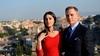 Джеймс Бонд в Капитолии: Дэниел Крейг и Моника Беллуччи на приеме у мэра Рима