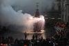 Во Флоренции несмотря на дождь отдали дань традиции, проведя обряд «Взрыв повозк
