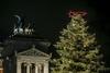 В Риме зажглись огни главной Рождественской ели