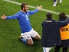 ЧМ - 2010: в своем первом матче сборная Италия сыграла вничью с футболистами из