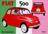 Fiat 500 - автомобиль-символ Италии- отмечает 60-летний юбилей