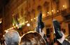 """В Италии организовали """"День ботинка"""" против безработицы"""