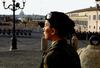 8 марта женский взвод будет охранять президента Италии