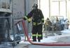 На нефтеперегонном заводе в Таранто произошел пожар