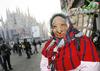 В честь года Expo главную площадь Милана украсят самым длинным в мире чулком Беф