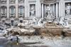 Римский фонтан Треви остался без воды