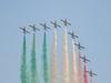 В Йезоло прошло аэровоздушное шоу с участием «Frecce Tricolori»