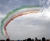 Пилотажная группа «Frecce tricolori» открыла новый сезон