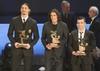 Названы лучшие игроки итальянской серии А в 2011 году