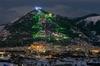 В Губбио зажигают самую большую елку в мире