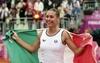 Итальянские теннисистки вышли в полуфинал Кубка Федерации, уверенно обыграв сбор