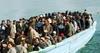 На Лампедузу за два дня высадилось более 2 тысяч нелегальных иммигрантов, власти