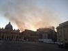 Пожар на севере Рима, пепел долетает до центра города