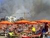 Более тысячи туристов эвакуированы в связи с пожаром в Марина-ди-Гроссето