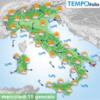 """Погода в Италии: """"сумасшедший"""" январь - снегопады на севере страны, аномальная ж"""
