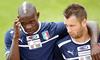 Итальянские болельщики надеются на победу в завтрашнем четвертьфинале