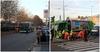 В Милане городской автобус столкнулся с мусоровозом: есть пострадавшие