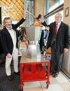 В Римини представлена самая большая в мире кофеварка «Мока»
