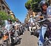 Рим наводнили тысячи мотоциклов Harley-Davidson