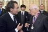 Сборная Италии по футболу побывала на приеме у главы государства