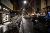 На Италию обрушился первый сильный снегопад