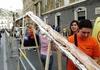 На Сицилии испекли самый длинный батон хлеба в мире