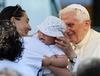 Визит папы Бенедикта XVI в пострадавшие от землятресения регионы