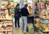 В супермаркете Сиены за вора расплатились полицейские