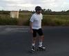 Житель Сардинии объедет весь остров на роликовых коньках