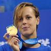 Итальянка Федерика Пеллегрини завоевала золото на Чемпионате мира по плаванию в