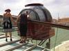 В Венеции к мосту Калатрава прикрепили фуникулер
