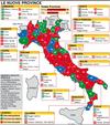 """В """"Новой Италии"""" останется 56 провинций из 110"""