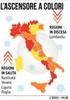 """Ломбардия и Венето движутся в сторону """"оранжевой зоны"""", рискуют стать """"красными"""""""
