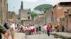 Американские туристы крадут (и бросают) фрагмент храма из руин Помпеи