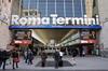 Рим: барьеры на железнодорожной станции Термини
