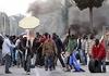 Протест иммигрантов в январе 2010 года в Розарно
