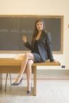 Реванш сексапильной преподавательницы, она оказалась жертвой учеников