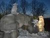 В зоопарке Турина появились ледяные животные