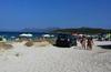 В Олбии парковка на пляже обошлась туристу в 2000 евро