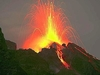 На острове-вулкане Стромболи зарегистрированы три бурных извержения