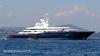"""Роскошная яхта """"Аль Миркаб"""" пришвартована в порту Неаполя"""