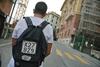 В Генуе пешеход был оштрафован как транспортное средство
