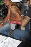 В Генуе проходит слет татуировщиков