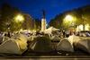 Рим приходят в себя после вчерашних акций протеста