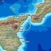 Землетрясение магнитудой 3,6 произошло у берегов Сицилии