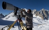 Итальянский фотограф-любитель сделал макси фото Монте-Бьянко, претендующее на ре