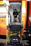 Турист-инвалид из Швеции заблокировал итальянский поезд