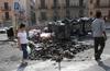 В Палермо задержаны подростки, поджигавшие мусор на улицах в историческом центре города